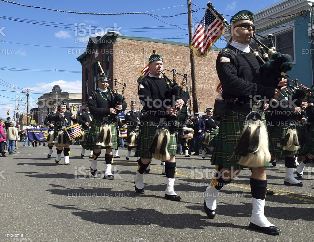 Bagpipers royalty-free stock photo