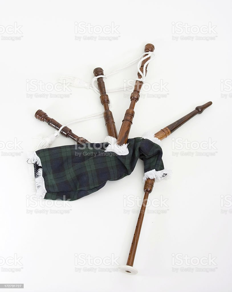 Bagpipes royalty-free stock photo