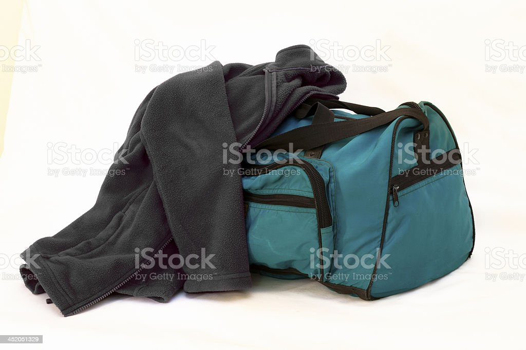 Bags are ready royalty-free stock photo