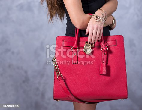 509923232istockphoto Bags fashion trends. Close up of gorgeous stylish bag 513809950