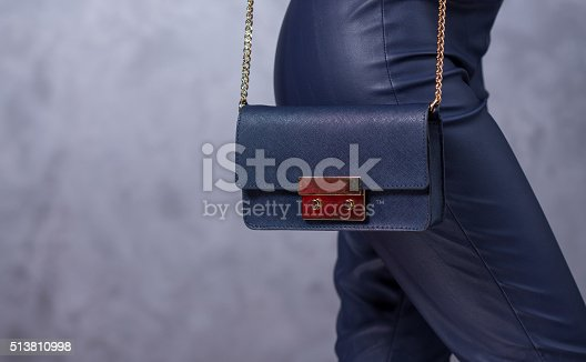 509923232istockphoto Bags fashion trends. Close up of gorgeous stylish bag 513810998