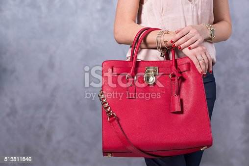 509923232istockphoto Bags fashion trends. Close up of gorgeous stylish bag 513811846