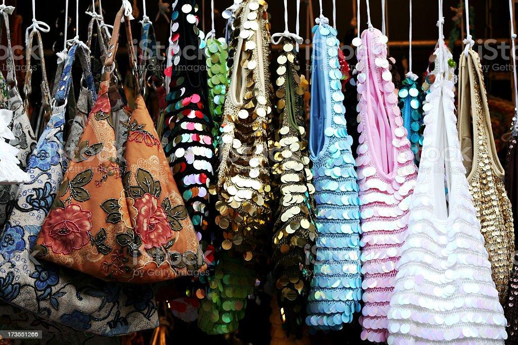 Bags & Purses royalty-free stock photo