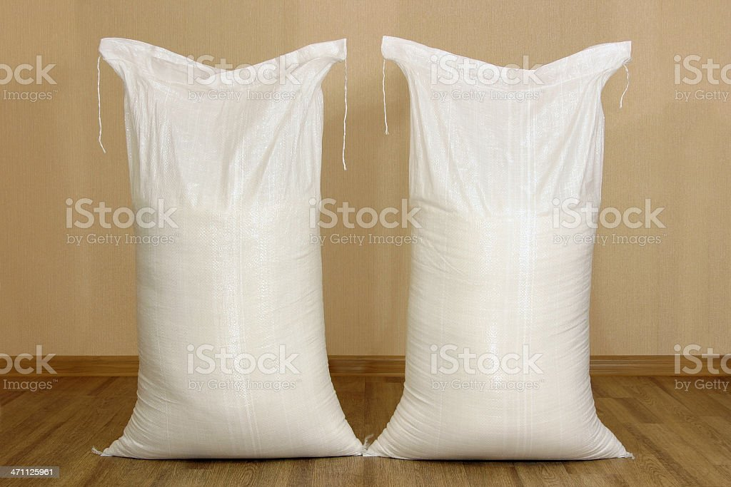Bags with product stock photo
