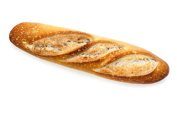 Baguette Isolated stock photo