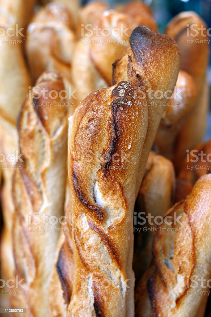 baguettes stock photo