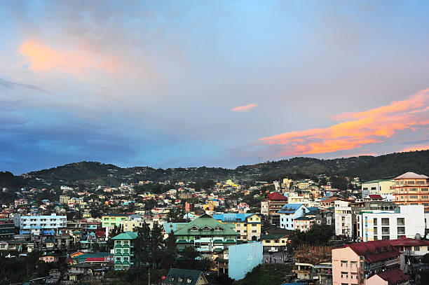 baguio city - baguio city stock photos and pictures