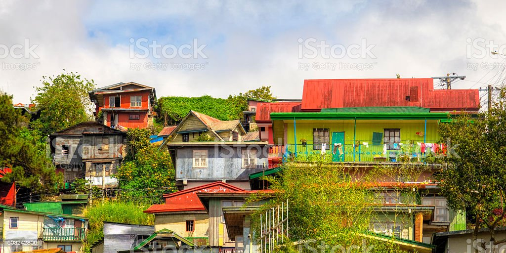 HDR Baguio Cuty, Philippines stock photo