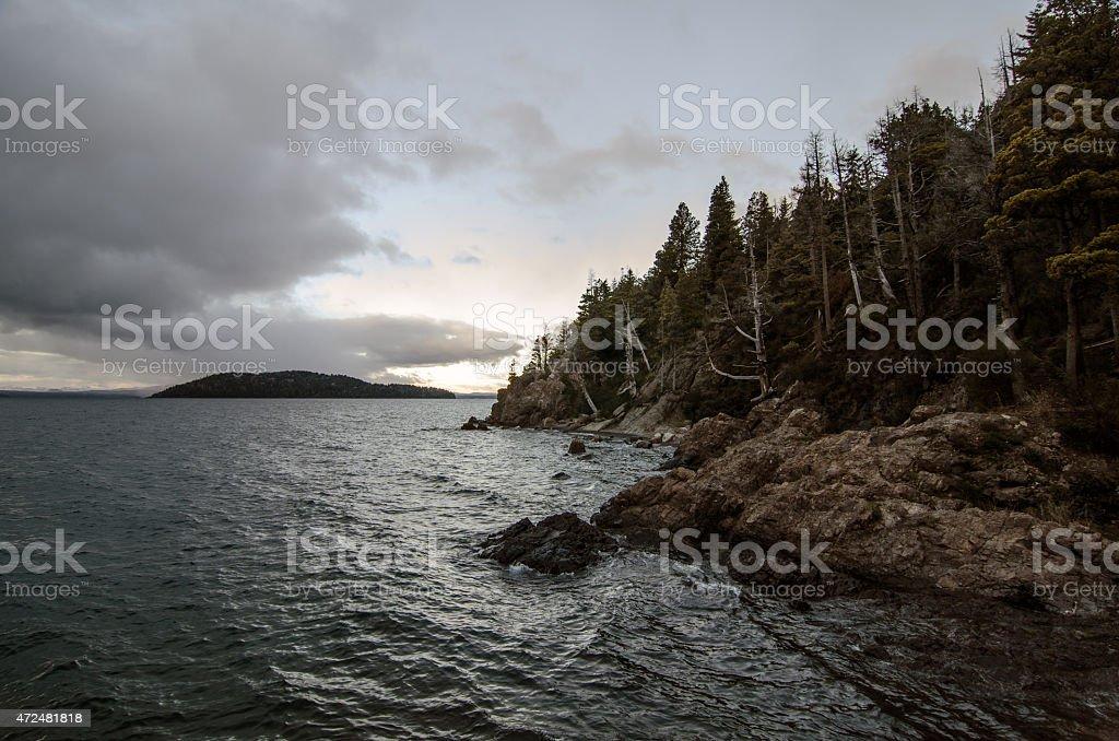 Bahía Serena stock photo