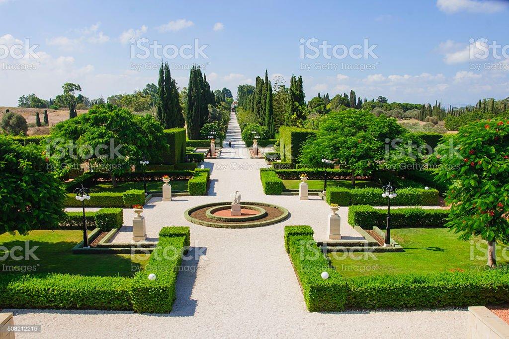 Jardins Bahai, Acre - foto de acervo