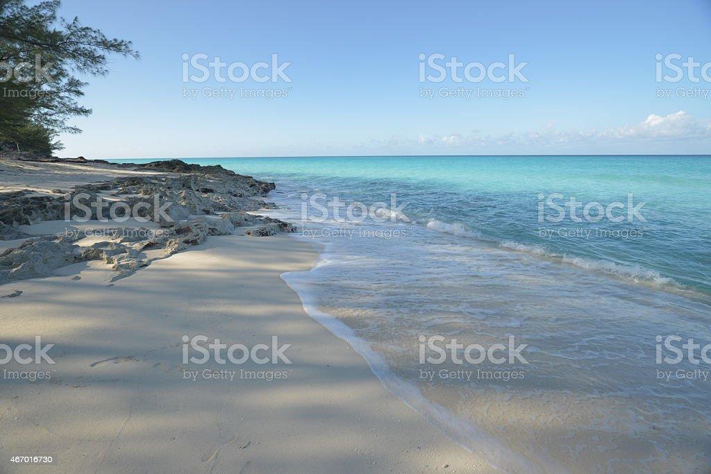 Bahama islands stock photo