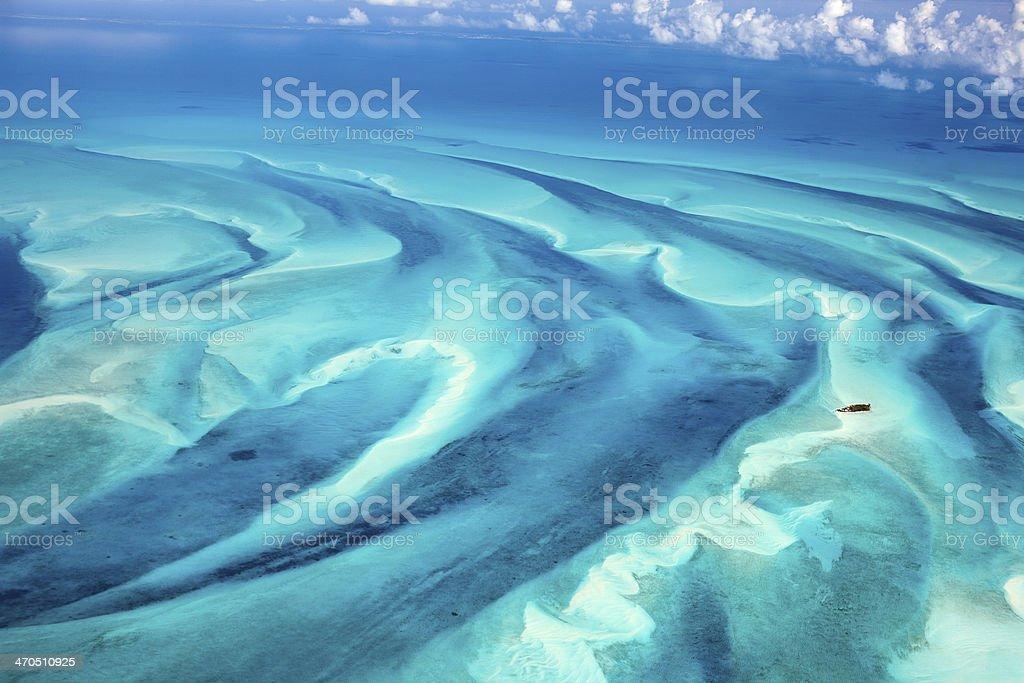 Bahamas Veduta aerea - foto stock