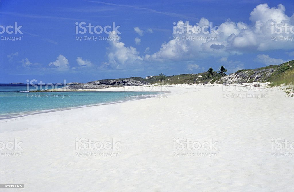 Bahamas Beach stock photo