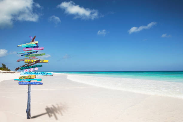 Bahamas Beach Sign