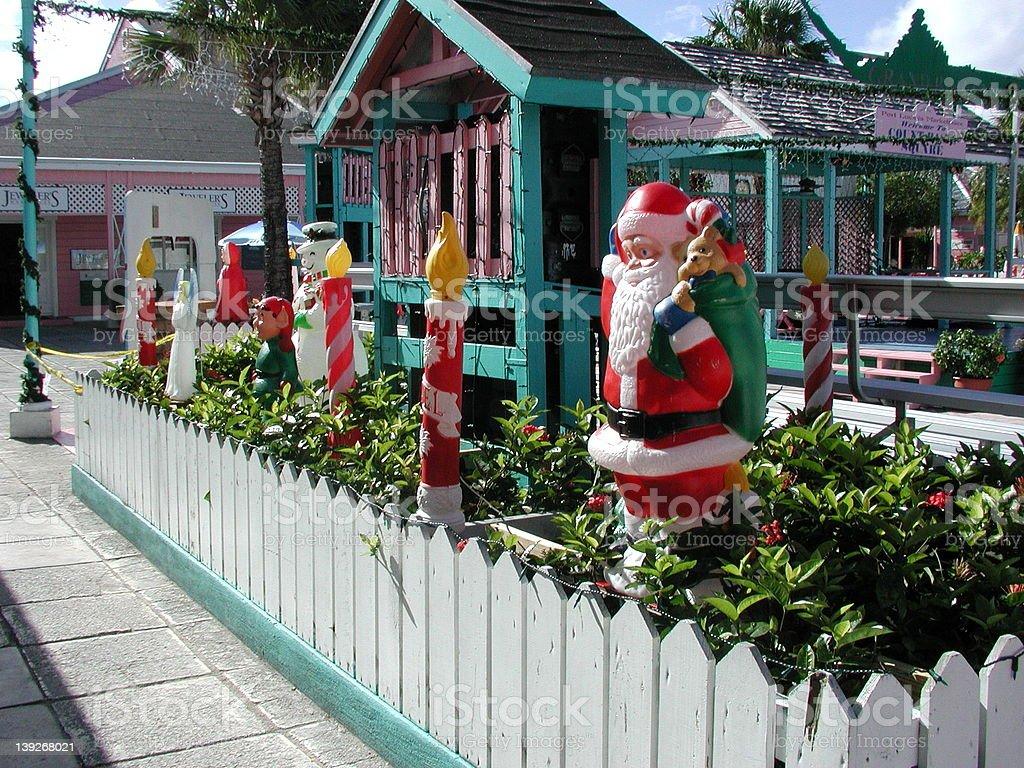 Bahamas Christmas royalty-free stock photo