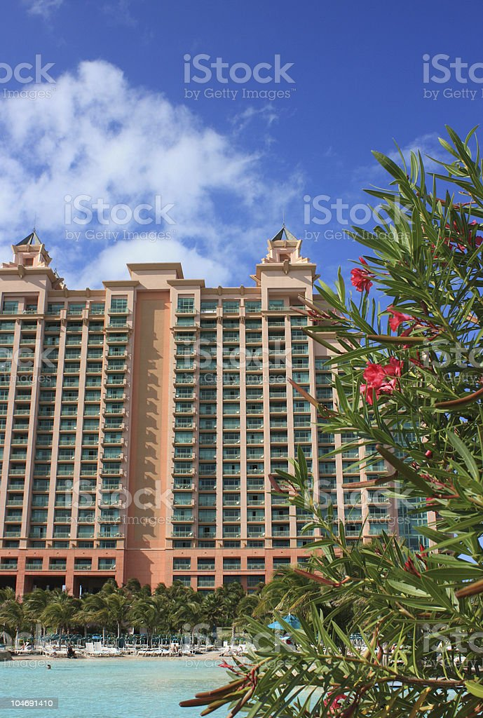 Bahamas Hotel stock photo