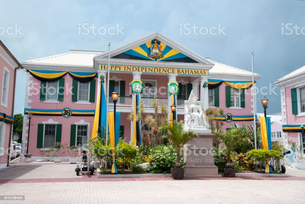Bahamas Independence Day stock photo