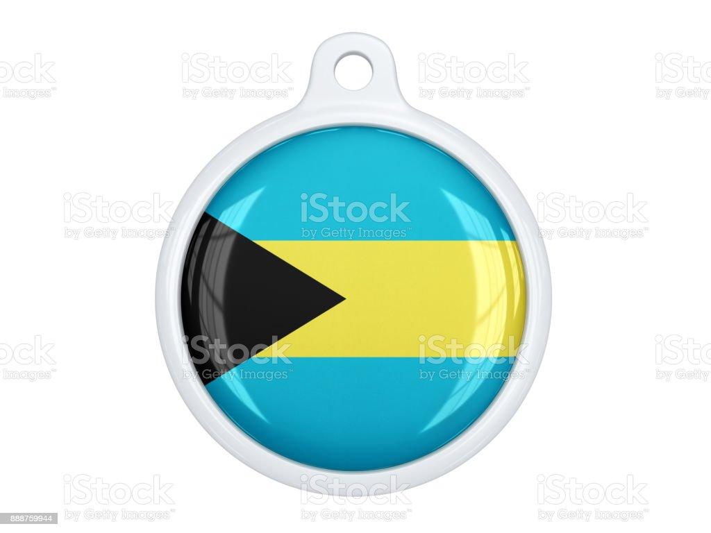 Bahamas medal stock photo