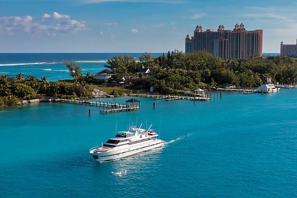 bahamas- paradise island - nassau new providence stockfoto's en -beelden