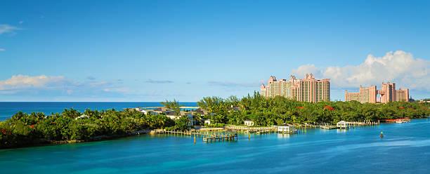 Panorama su Nassau, Bahamas, Caraibi. - foto stock