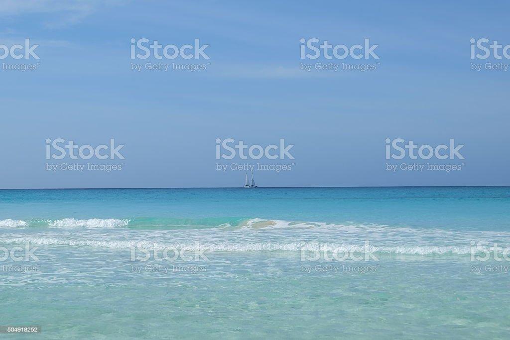 Bahamas Sea stock photo