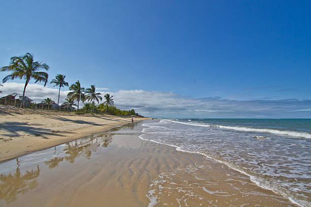 Bahia Beach stock photo