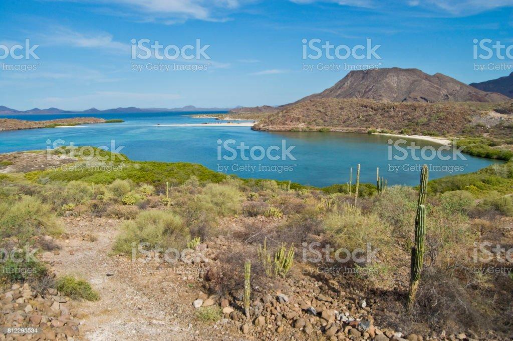 Bahía Concepción, bcs. México - foto de stock