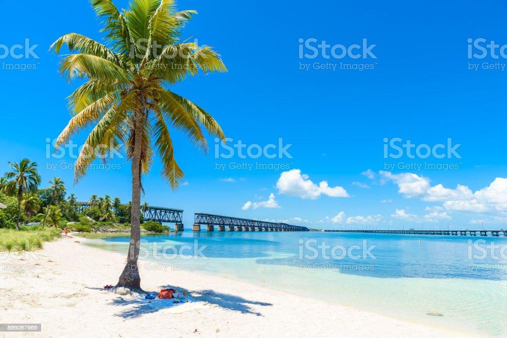 Bahia Honda State Park - Calusa Beach, Florida Keys - USA stock photo