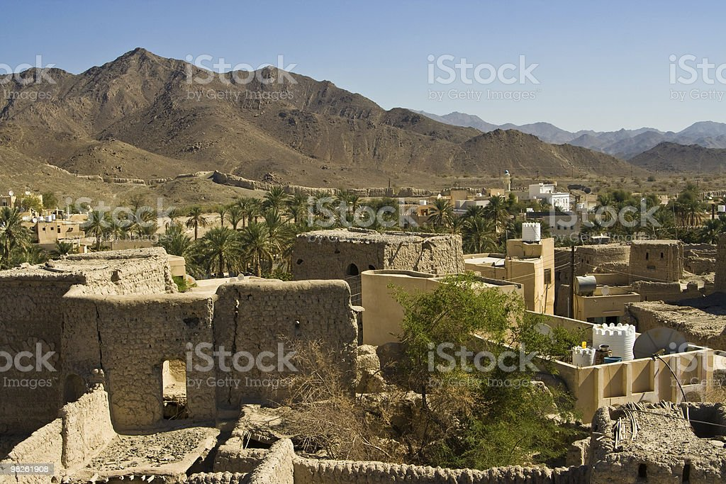 Bahla in Oman royalty-free stock photo