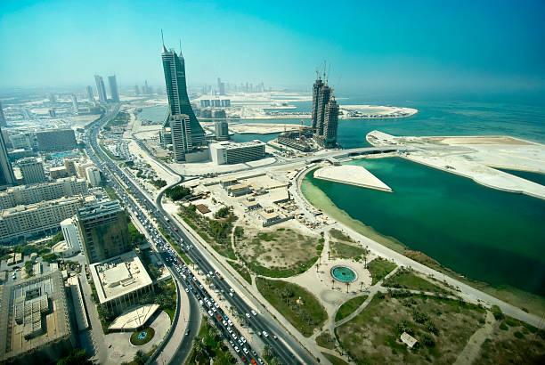 Bahrain developments stock photo