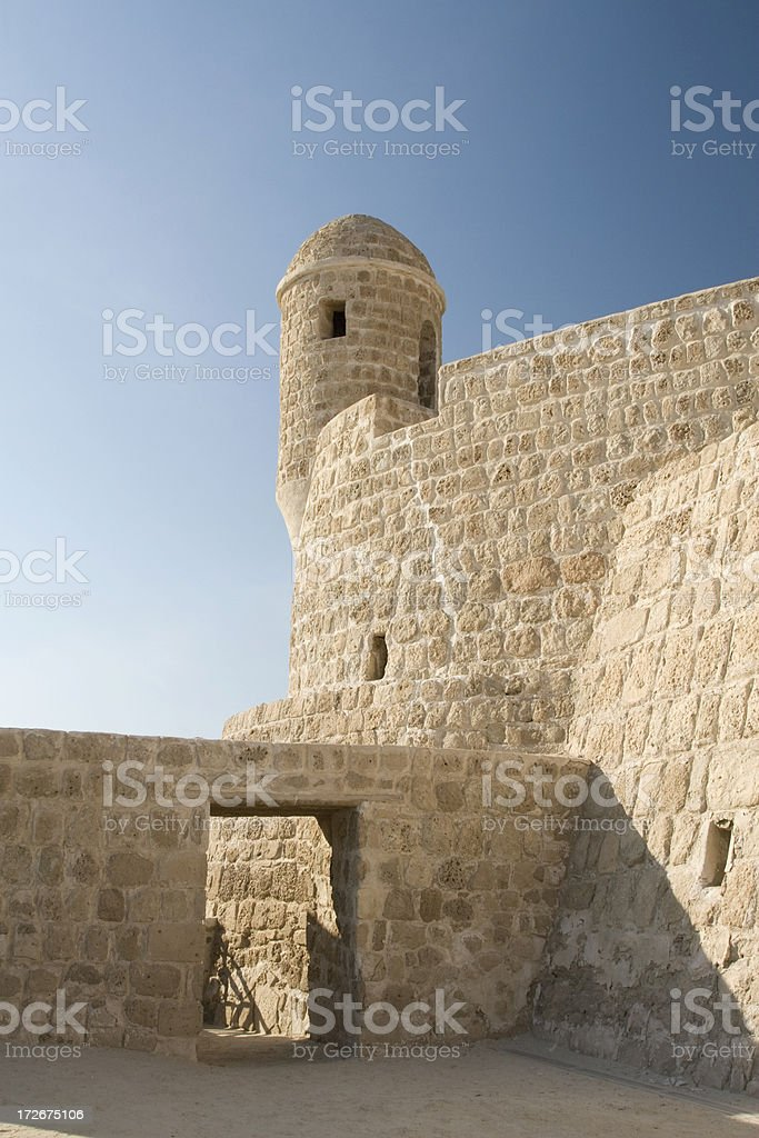 Bahrain Fort Stock Photo & More Pictures of Ancient