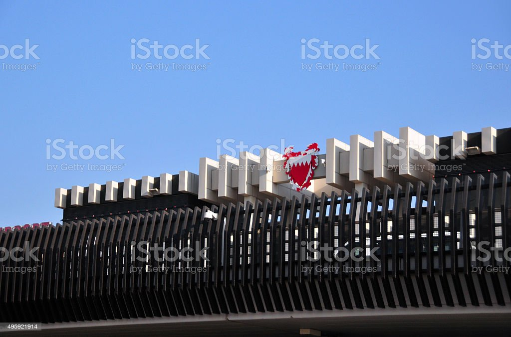 Bahrain International Airport stock photo