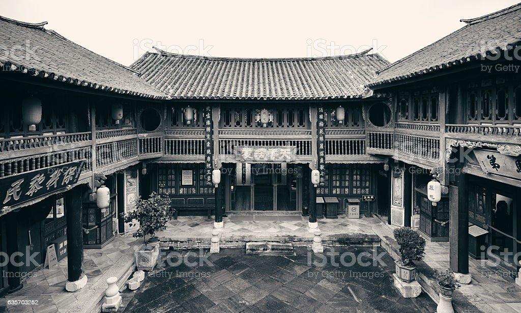 Bai style architecture royalty-free stock photo