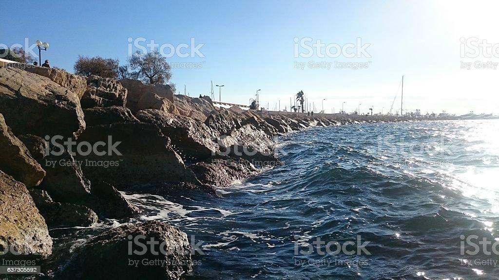 Baie de Cannes stock photo