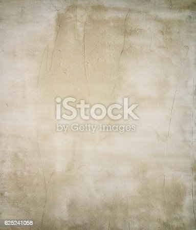 istock Baige grunge old wall texture, concrete cement background 625241058