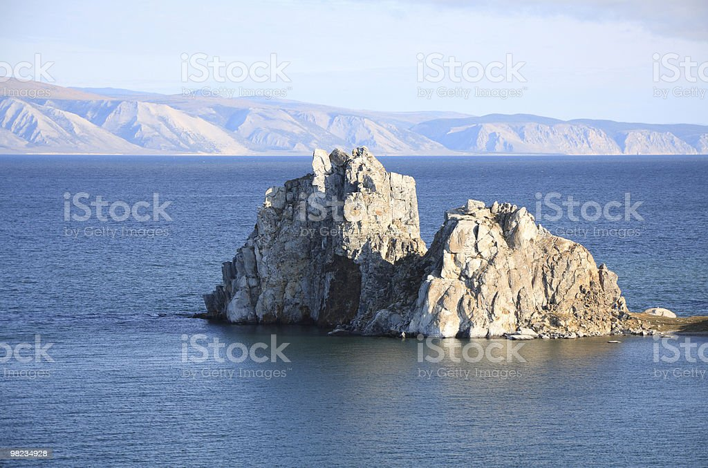 Baikal lake royalty-free stock photo