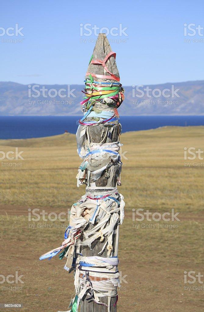 Lago Baikal foto stock royalty-free