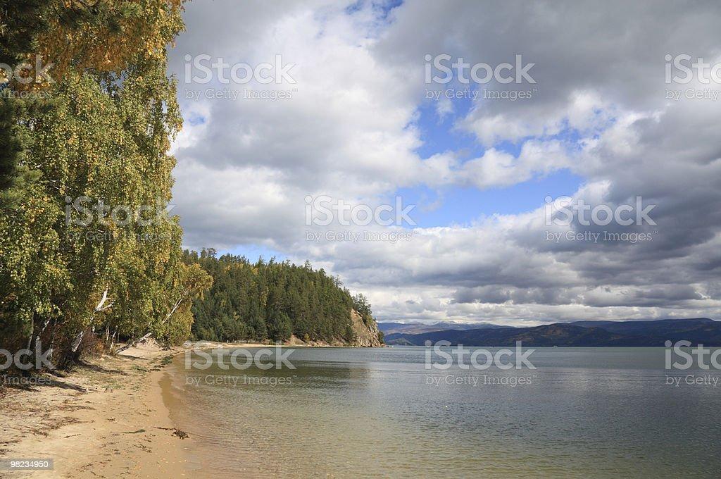 Baikal lake royalty-free stock photo