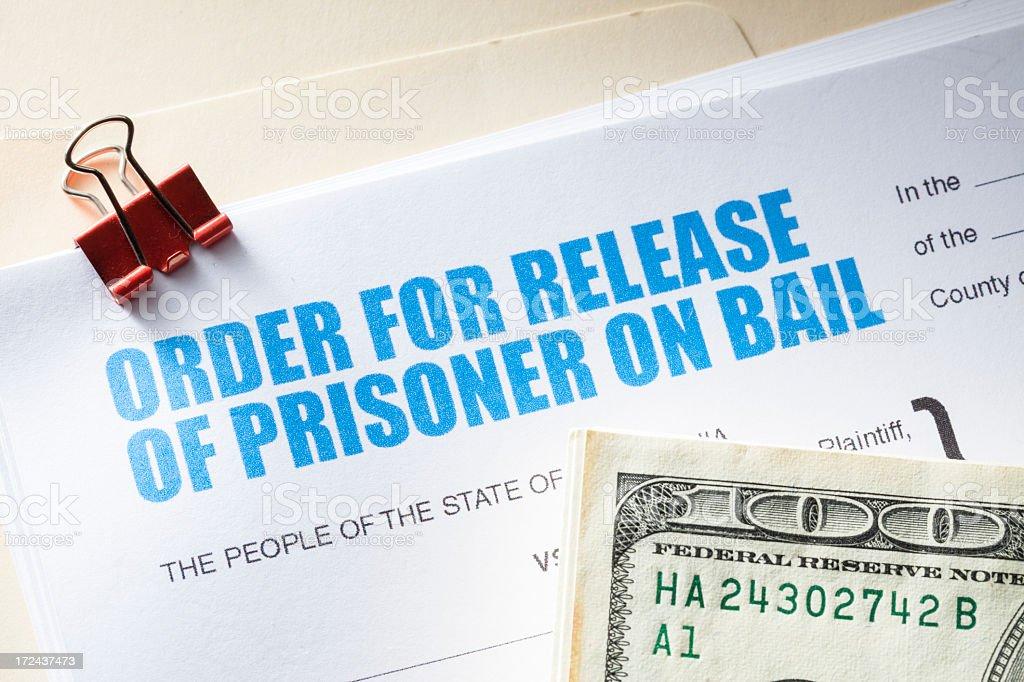 Bail Bond royalty-free stock photo