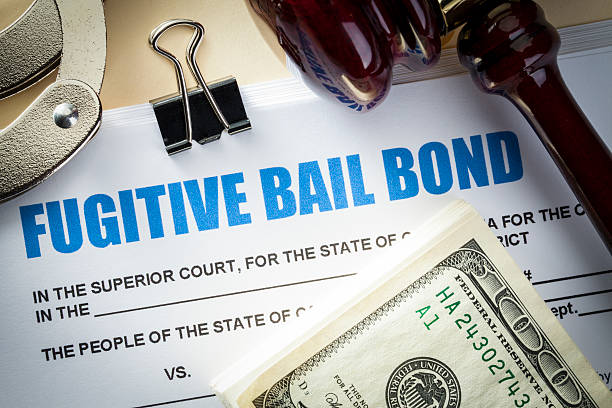 Bail Bond stock photo