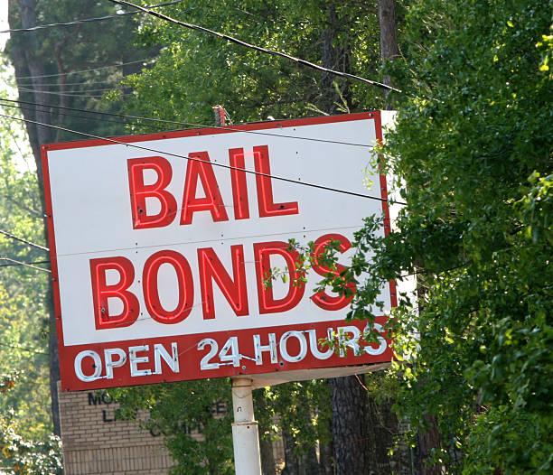 Bail Bonds stock photo