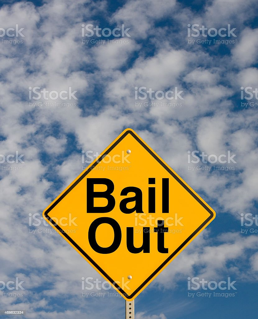 Bail Out stock photo