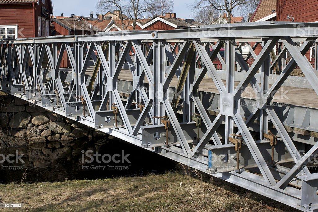 Bailey-Brücke Lizenzfreies stock-foto