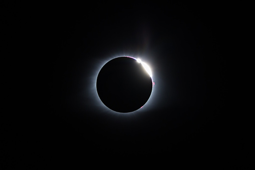 Baileys Beads 2017 Total Solar Eclipse Stock Photo - Download Image Now