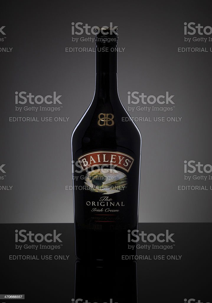 Baileys Irish Cream stock photo