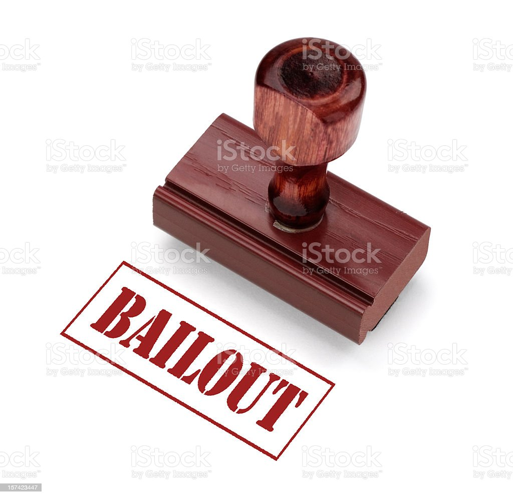 Bailout royalty-free stock photo
