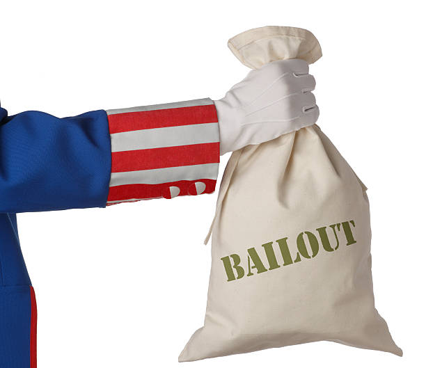 Bailout A symbolic look at the U.S. government's financial bailout. bailout stock pictures, royalty-free photos & images
