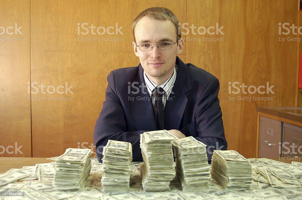 Bailout Smirk royalty-free stock photo