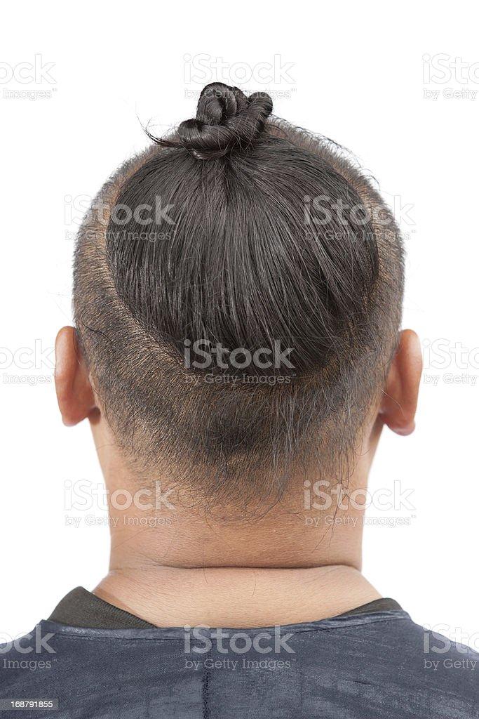 Baisha tribal man stock photo