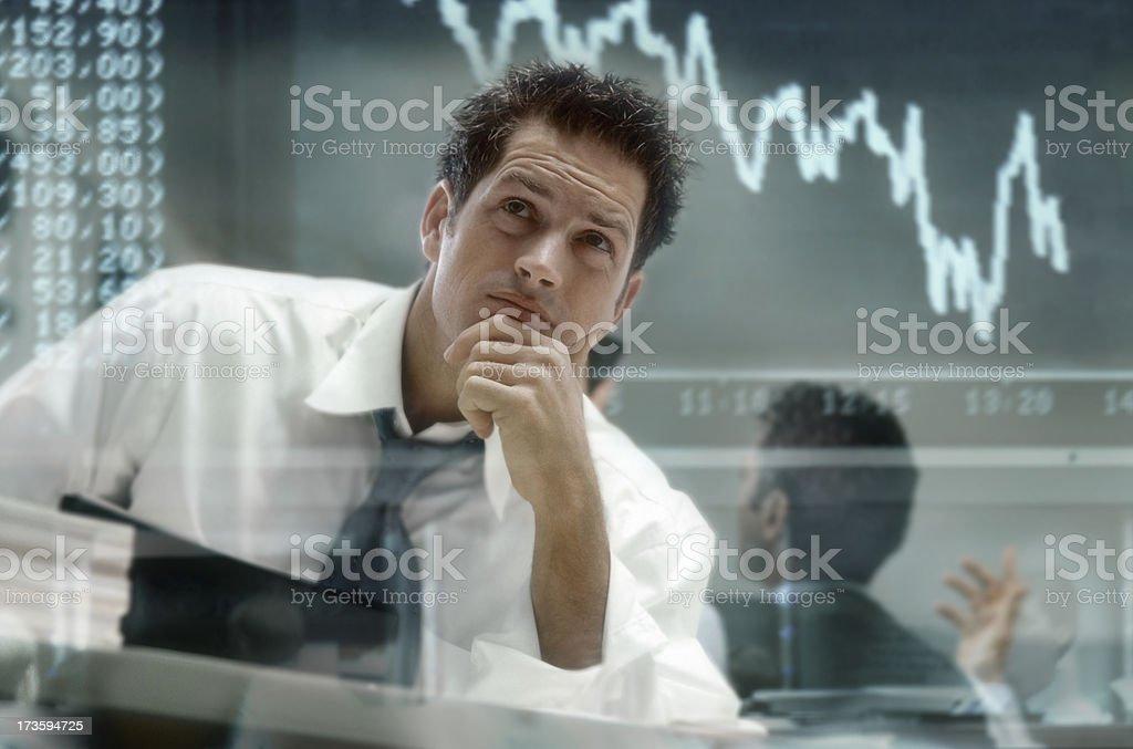 Renseignements - Lizenzfrei Bankrott Stock-Foto
